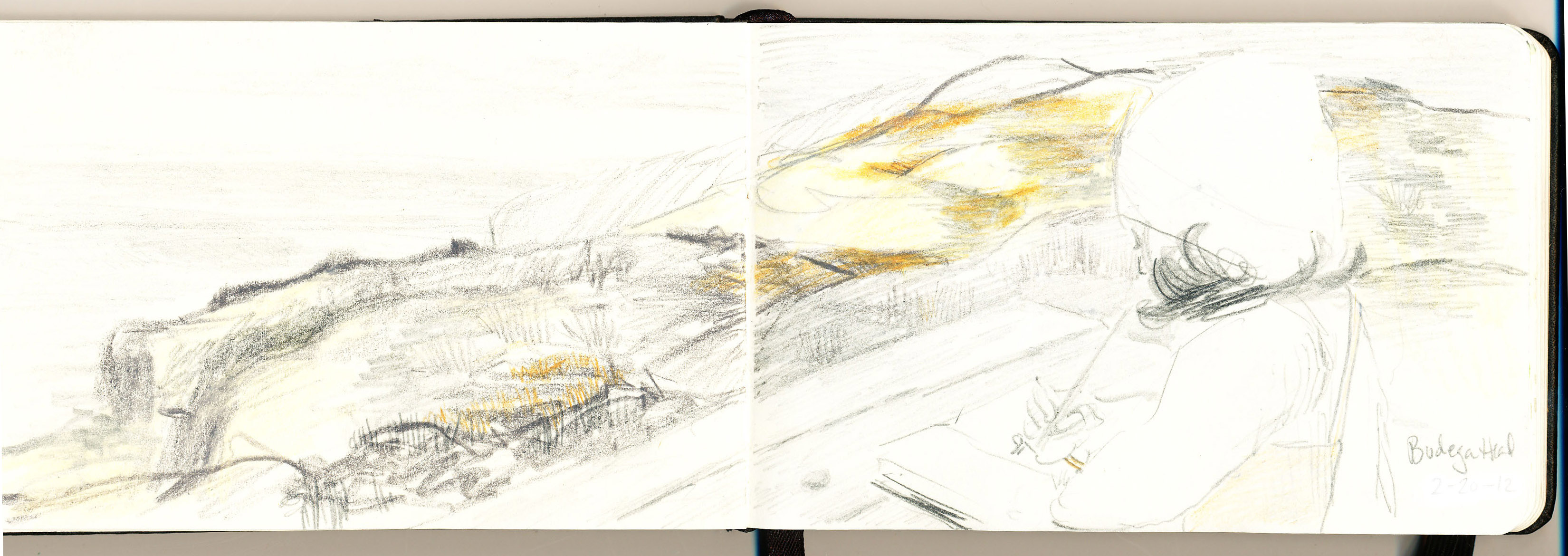 Out Sketching: North Bay Horizons